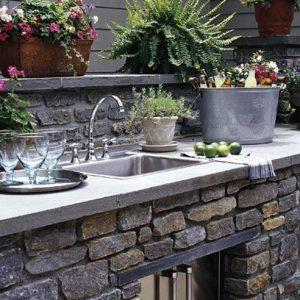 Concrete Countertops vs. Natural Stone